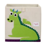 3 Sprouts Storage Shelf Box : Green Dragon