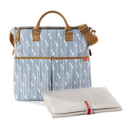 Skip Hop Blueprint Stripe Duo Signature Diaper Bag
