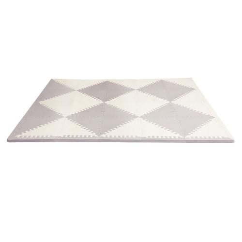 Skip Hop Playspot Geo Foam Tiles - Grey/Cream