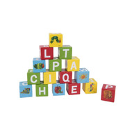 Very Hungry Caterpillar Wooden Learning Blocks
