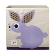 3 Sprouts Storage Shelf Box : Purple Rabbit