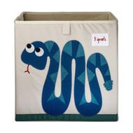 3 Sprouts Storage Shelf Box : Blue Snake