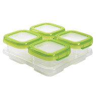 OXO TOT Baby Blocks Freezer Storage Containers 4oz