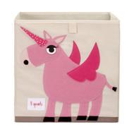 3 Sprouts Storage Shelf Box : Pink Unicorn