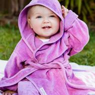 Buy Silly Billyz Organic Cotton Bath Robe Online - Peekaboo Baby