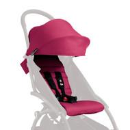 Babyzen Yoyo+ Plus Seat Pad Fabric & Canopy Pack - Pink