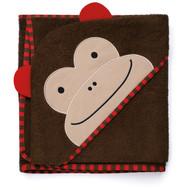 Skip Hop Monkey Toddler Hooded Towels