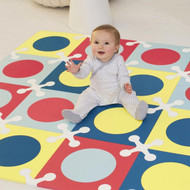 Skip Hop Playspot Foam Floor Tiles - Multi Mix
