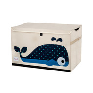 Buy Online 3 Sprouts Toy Chest Storage : Blue Whale