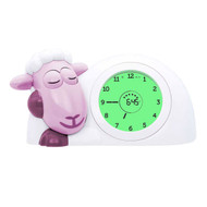 Zazu Sleep Trainer Pink Lamb Clock & Nightlight