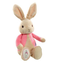 Beatrix Potter Flopsy Rabbit Beanie Rattle Toy