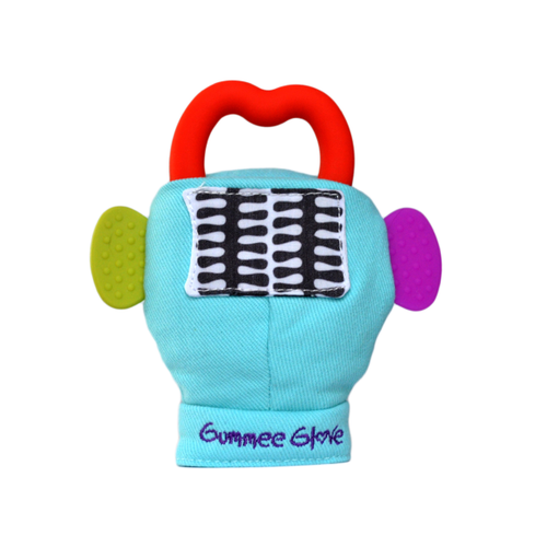 Buy Gummee Glove Teether Mitten - Turquoise
