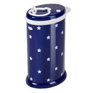 Ubbi Baby Diaper Bin - Navy Stars