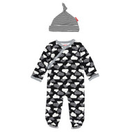 Skip Hop Star-struck Onesie & Hat Set - Clouds