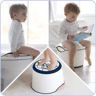 Ubbi 3-in-1 Potty Trainer, Toilet Trainer, Step Stool