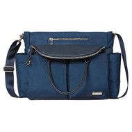 Skip Hop Chelsea Downtown Chic Diaper Satchel  - Midnight Blue
