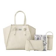 Isoki Easy Access Nappy Bag - Ivory