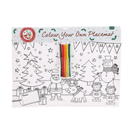 Colour Your Own Canvas Placemat : DIY Kids Christmas Activity & Gifts Online