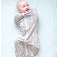 ergopouch ergoCocoon Swaddle & Sleep Bag (1 tog) - Grey Fern