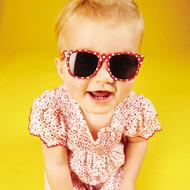 Eyetribe Frankie Ray Baby Minnie Gidget Sunglasses (Red + Spot)