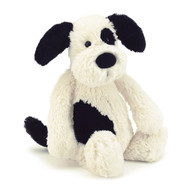 Jellycat Bashful Black & Cream Puppy Dog - Plush Toys Online