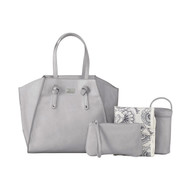 Isoki Easy Access Nappy Bag - Grey