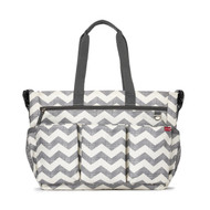 Skip Hop Duo Double Signature Diaper Bag - Chevron