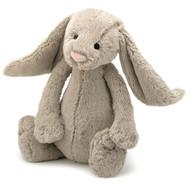 Jellycat Bashful Bunny Toy - Beige Large (36cm) - Peekaboo Baby