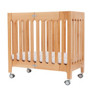 Bloom Alma Mini Urban Crib/Bassinet  Natural Wood