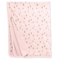 Skip Hop Star-Struck Reversible Welcome Home Blanket - Pink Raindrops