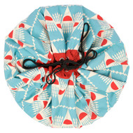 Play&Go Toy Storage Bag & Play Mat - Badminton designed by Bakker Made With Love