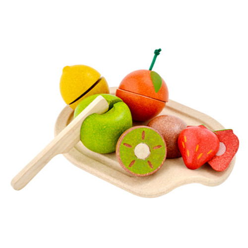 PlanToys Eco Assorted Fruit Set - Pretend Play Toy