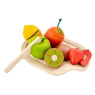 PlanToys Eco Assorted Fruit Set - Pretend Play Toy