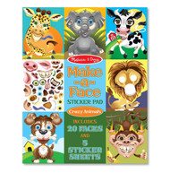 Melissa & Doug Crazy Animals Sticker Pad