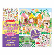 Melissa & Doug Scratch & Sniff Sticker Pad - Floral Fairies