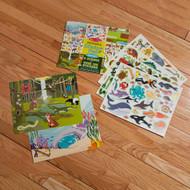 Melissa & Doug Reusable Sticker Book - Kids Activity