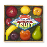 Melissa & Doug 9 Pieces Play Time Fruit Toys