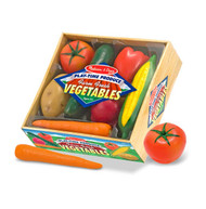 Melissa & Doug 7 Pieces Play Time Vegetables Toy