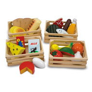 Melissa & Doug 21 Piece Wooden Food Groups