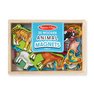Melissa & Doug Box of 20 Animal Magnets