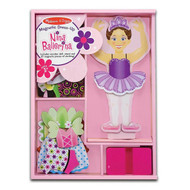 Melissa & Doug Nina Ballerina Magnetic Dress-Up