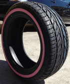 (4) new 195/60R15 radar rpx-900 89V (pink sidewall) 195 60 15 1956015 pink wall