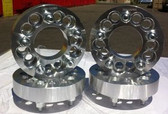 SET OF WHEEL RIM BILLET SPACERS ADAPTERS 5X120 TO 5X120