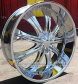 28 INCH RS33 RIMS AND TIRES BOX CHEV CAPRICE IMPALA CUTLASS MALIBU CHARGER 300