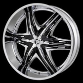 26 INCH DIABLO ELITE RIMS AND TIRES AVALANCHE ESCALADE SIERRA SILVERADO SUBURBAN