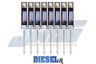 DIESEL RX GM 6.6L LLY LBZ LMM DURAMAX DIESEL GLOW PLUG SET - DRX00057