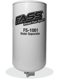 FASS Titanium Series Replacement 3M Water Separator Cummins Duramax Powerstroke #FS-1001