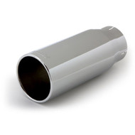 "BANKS POWER 52930 POLISHED EXHAUST TIP 4"" IN X 5"" OUT X 12.5"" LONG"