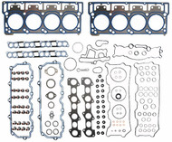 INCLUDES HEAD GASKETS, INTAKE GASKETS, VALVE COVER GASKETS, ROCKER CARRIER GASKETS, EXHAUST MANIFOLD GASKETS, VALVE SEALS, INJECTOR ORINGS & MORE