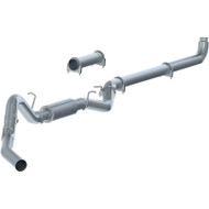"""2007.5-2010 GM 6.6L DURAMAX LMM MBRP C6004P 4"""" PERFORMANCE SERIES DOWNPIPE-BACK COMPETITION EXHAUST WITH FREE TIP T5051!"""